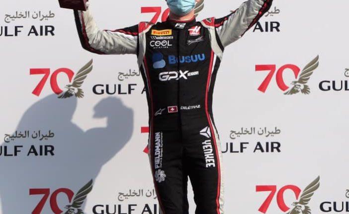 FIA F2 – GP du Bahreïn: Superbe podium et remontée pour Louis Delétraz