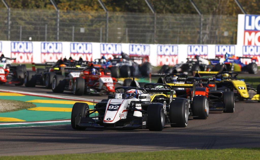 Formula Renault Eurocup - Victor Martins fait le break à Imola, Grégoire Saucy septième