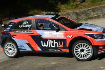 Le vice-champion du monde de Moto GP au départ du Rallye de Monza WRC