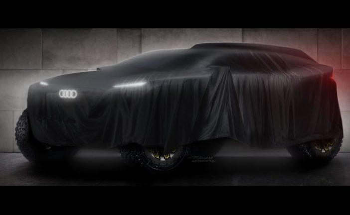 Audi startet bei der Rallye Dakar