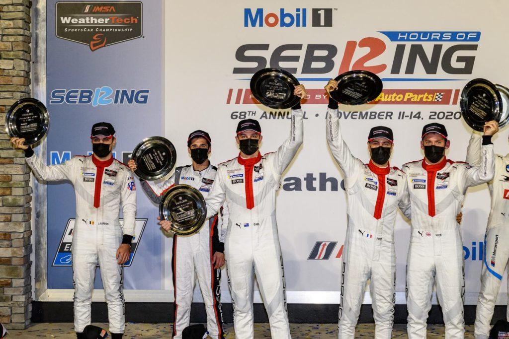 IMSA 12 de Sebring – Podium pour le retour en GT de Neel Jani, nouvelle victoire en LMP2 de Simon Trummer