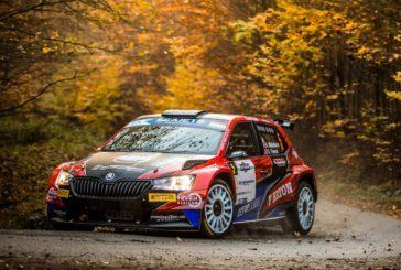 ERC – Škoda privateer Andreas Mikkelsen wins Rally Hungary – Oliver Solberg finishes fourth