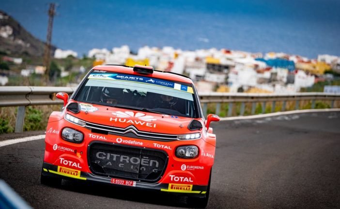 The C3 R5 wins the European Championship and cleans up in Spain !
