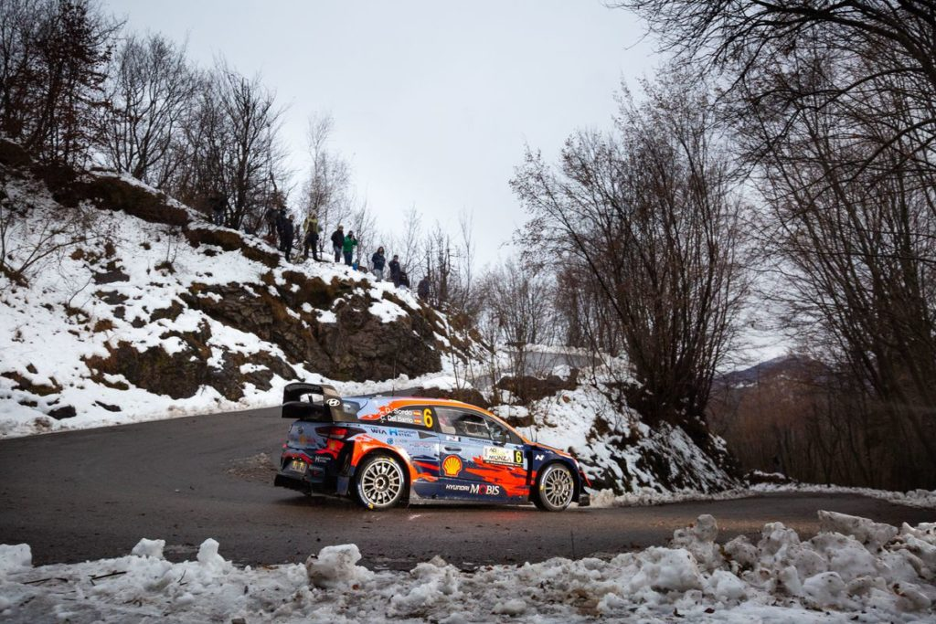 WRC - Hyundai Motorsport has completed the penultimate day of Rally Monza
