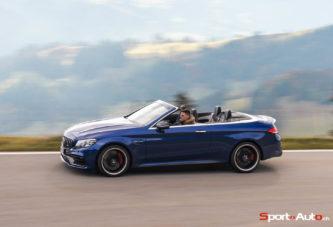 Essai – Mercedes-AMG C63 S Cabriolet