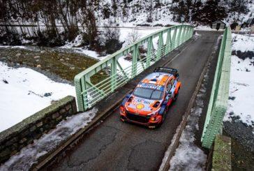Rallye Monte-Carlo : Tanak en tête à l'issue de cette première journée, Burri 25ème