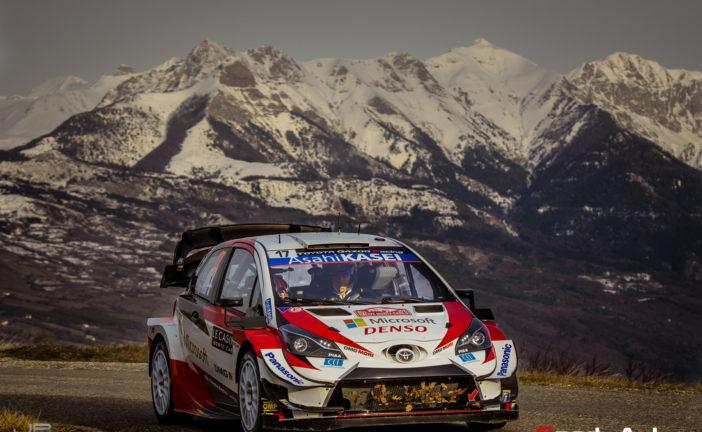 Coup d'envoi du WRC 2021 au Monte-Carlo