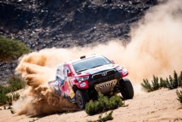 Dakar –  Al-Attiyah seals hat-trick of stage wins to cut Peterhansel lead