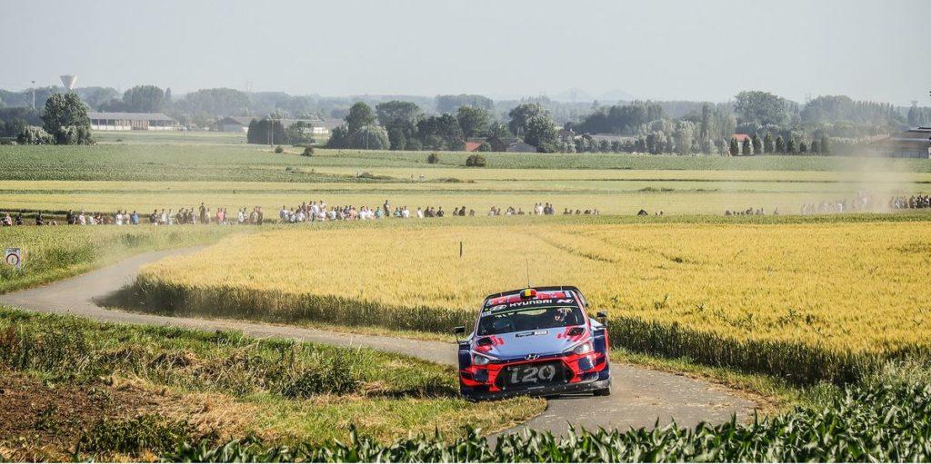 WRC - le Rallye de Belgique remplace la Grande-Bretagne