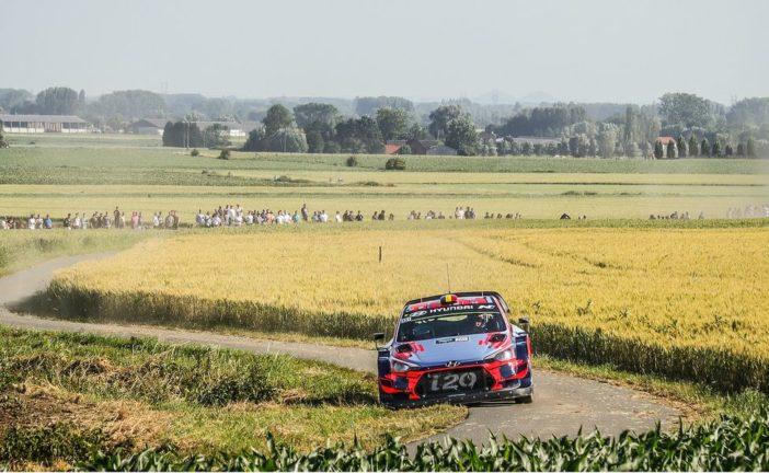 WRC – le Rallye de Belgique remplace la Grande-Bretagne