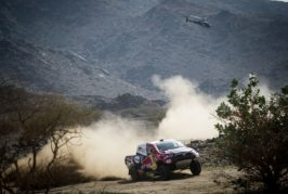 Dakar – Three-time champion takes top spot on the podium in the car category.