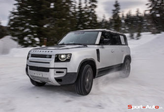 Essai - Land Rover Defender 110 P400