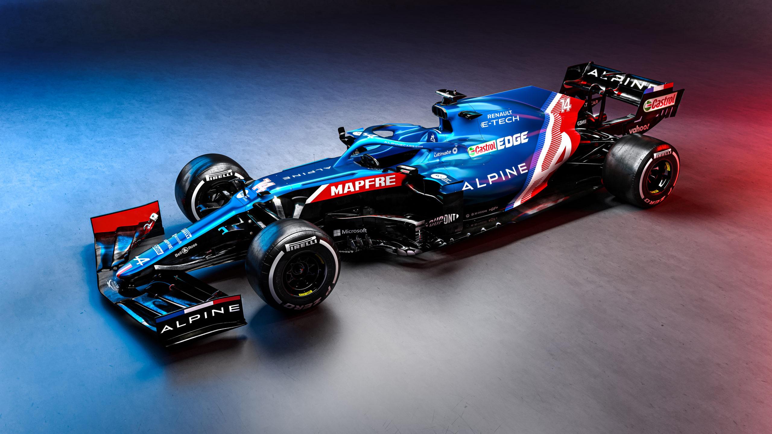 La nouvelle Alpine F1