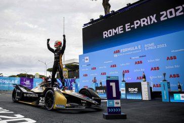 Formule E: Sébastien Buemi et Edoardo Mortara limitent les dégâts à Rome