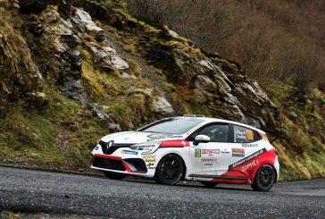 Rallye Sanremo – Apprentissage de la Clio pour Sacha Althaus, rallye compliqué pour Yoan Loeffler