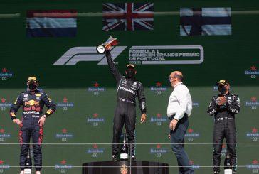 F1 – GP du Portugal: Victoire logique de Lewis Hamilton