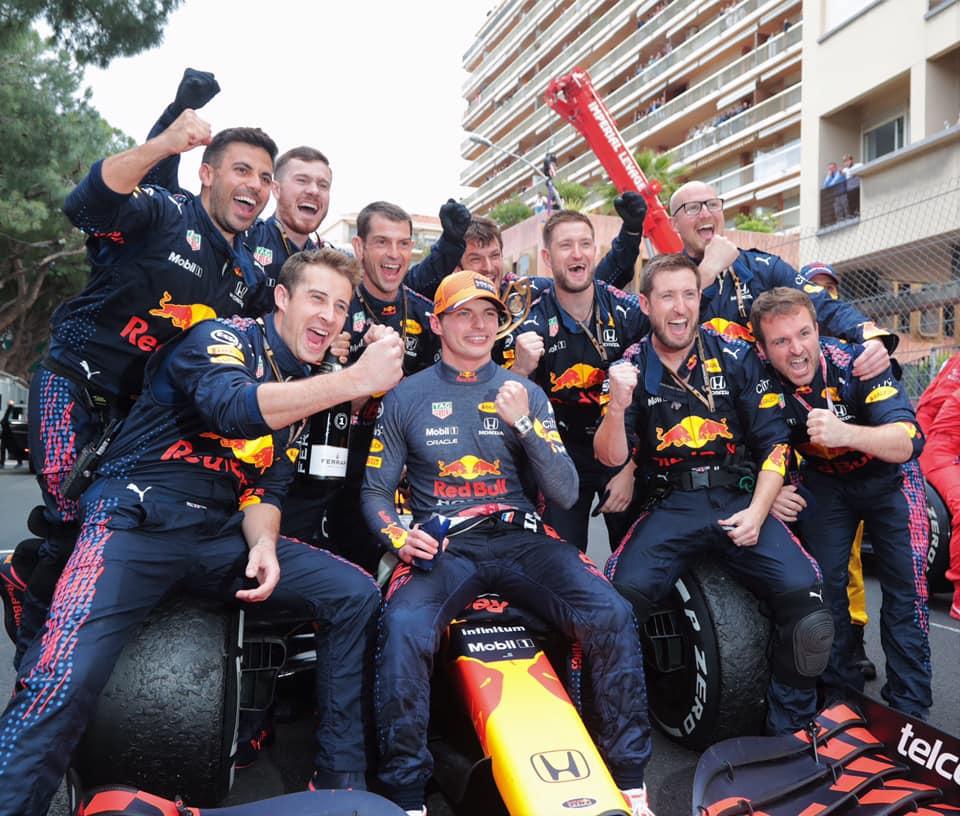 Max Verstappen gagne Monaco