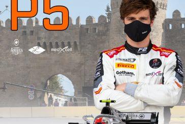 FIA F2 – GP d'Azerbaïdjan: Un Ralph Boschung rapide se classe 5ème et 6ème