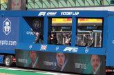 F1– Les Carnets de route 2021: La course sprint et son camion bleu (Episode Grande-Bretagne)