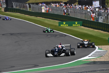 W Series – Fabienne Wohlwend sur le podium de Silverstone