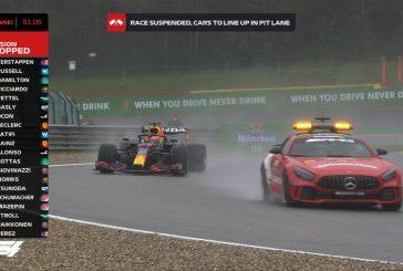 F1 – GP de Belgique: La victoire d'une course qui tourne à la farce attribuée à Max Verstappen