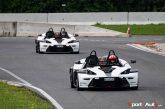 Cours de pilotage KTM X-Bow avec le TCS à Lignières
