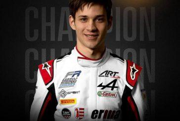 Formula Regional Europe – Grégoire Saucy champion de Formule 3 régionale