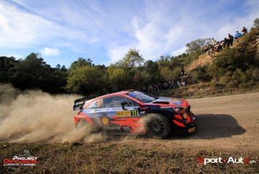 WRC – Thierry Neuville en tête du rallye d'Espagne à l'issue de la première journée